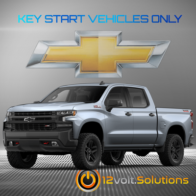 2017-2019 Chevrolet Silverado 1500 Plug & Play Remote Start Kit (Key Start)