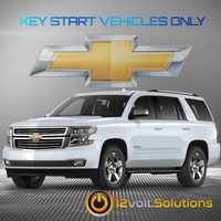 2017-2020 Chevrolet Tahoe Plug & Play Remote Start Kit (Key Start)