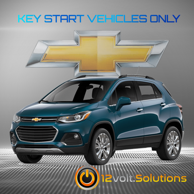 2017-2019 Chevrolet Trax Plug & Play Remote Start Kit (Key Start)