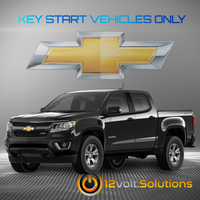 2017-2021 Chevrolet Colorado Plug & Play Remote Start Kit (Key Start)
