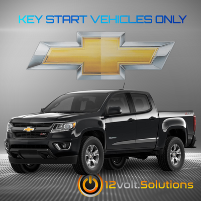 2017-2019 Chevrolet Colorado Plug & Play Remote Start Kit (Key Start)