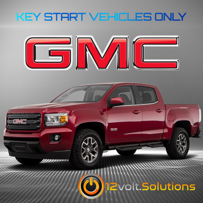 2017-2020 GMC Canyon Plug & Play Remote Start Kit (Key Start)