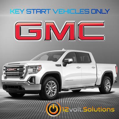 2017-2019 GMC Sierra 1500 Plug & Play Remote Start Kit (Key Start)