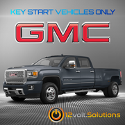 2017-2019 GMC Sierra 2500 3500 Plug & Play Remote Start Kit (Key Start)
