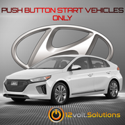 2017-2020 Hyundai IONIQ Hybrid Remote Start Plug and Play Kit (Push Button Start)