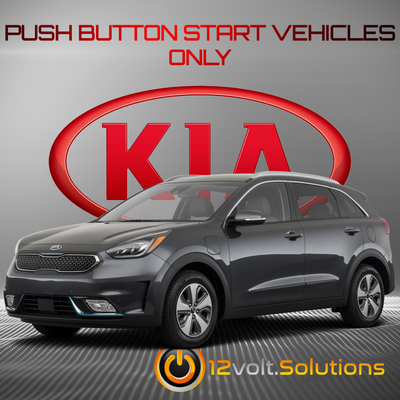 2017-2019 Kia Niro Remote Start Plug and Play Kit (Push Button Start)