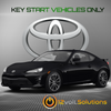 2017-2019 Toyota 86 Plug and Play Remote Start Kit (Key Start)