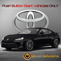 2017-2019 Toyota 86 Plug and Play Remote Start Kit (Push Button Start)