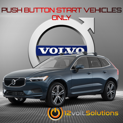 2017-2019 Volvo XC60 Remote Start Kit