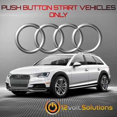2017-2020 Audi A4 Allroad Plug and Play Remote Start Kit