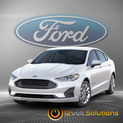 2017-2019 Ford Fusion Remote Start Plug & Play Kit