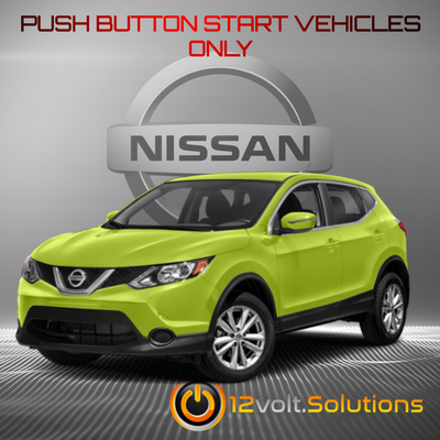 2017-2020 Nissan Qashqai Plug & Play Remote Start