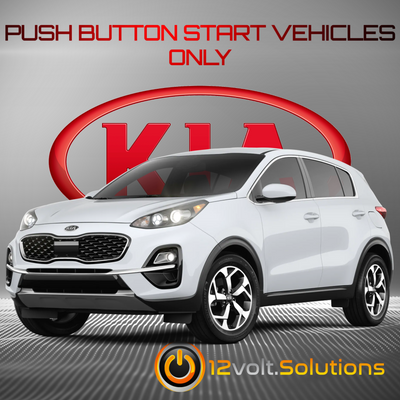 2017-2021 Kia Sportage Remote Start Plug and Play Kit (Push Button Start)