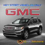 2017 GMC Acadia LIMITED Plug & Play Remote Start Kit (Key Start)