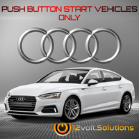 2018-2020 Audi A5 Sportback Plug and Play Remote Start Kit