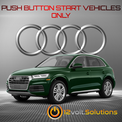 2018-2021 Audi Q5 Plug and Play Remote Start Kit