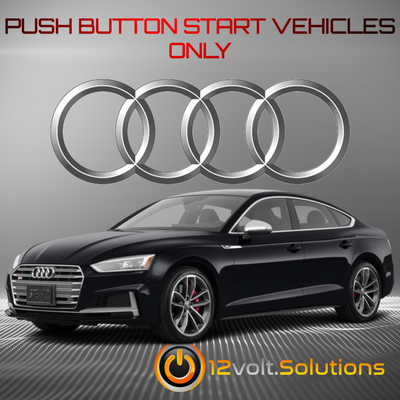 2018-2019 Audi S5 Sportback Plug and Play Remote Start Kit