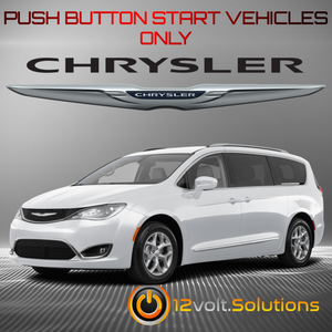 2018-2019 Chrysler Pacifica Plug & Play Remote Start Kit (Push Button Start)