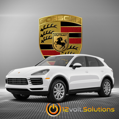 2019-2020 Porsche Cayenne Plug and Play Remote Start Kit