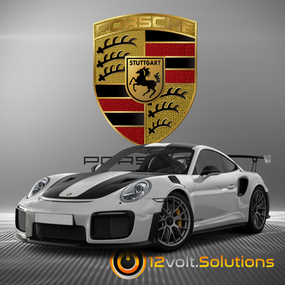 2018-2019 Porsche GT2 RS Plug and Play Remote Start Kit