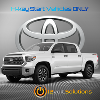 2018-2019 Toyota Tundra Plug & Play Remote Start Kit (H-Key)
