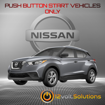 2018-2020 Nissan Kicks Plug & Play Remote Start Kit (Push Button Start)