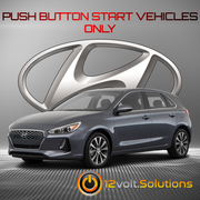 2018-2020 Hyundai Elantra GT Remote Start Plug and Play Kit (Push Button Start)
