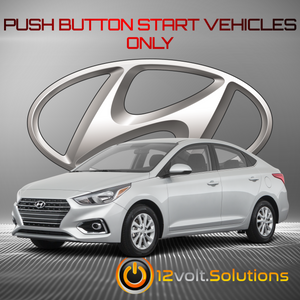 2018-2020 Hyundai Accent Remote Start Plug and Play Kit (Push Button Start)