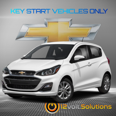 2019 Chevrolet Spark Plug & Play Remote Start Kit (Key Start)