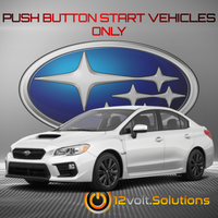 2019-2020 Subaru WRX Plug and Play Remote Start Kit (Push Button Start)