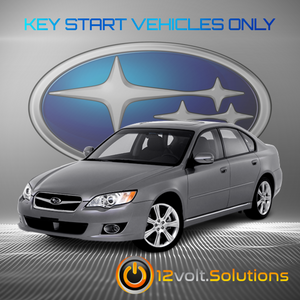 2005-2009 Subaru Legacy Plug & Play Remote Start Kit (Key Start)