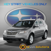 2006-2014 Subaru Tribeca Plug & Play Remote Start Kit (Key Start)