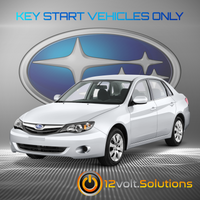 2008-2011 Subaru Impreza Plug & Play Remote Start Kit (Key Start)