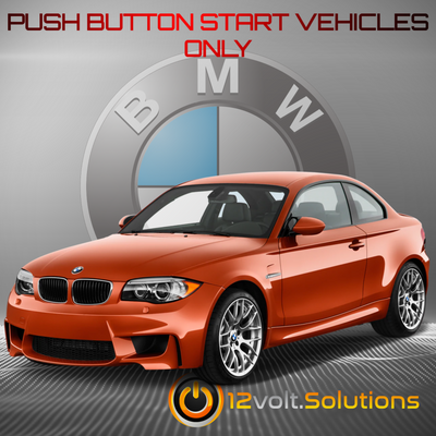 2011 BMW 1M Plug and Play Remote Start Kit (Push Button Start)