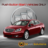 2012-2017 Buick Verano Plug and Play Remote Start Kit (Push Button Start)