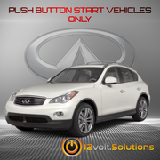 2013 Infiniti EX37 Remote Start Plug and Play Kit (Push Button Start)