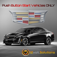 2014-2018 Cadillac CTS Plug and Play Remote Start Kit (Push Button Start)