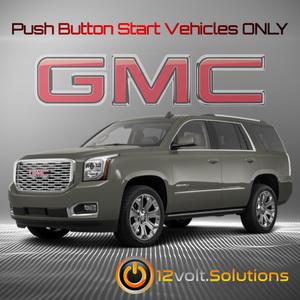 2015-2020 GMC Yukon Plug and Play Remote Start Kit (Push Button Start)