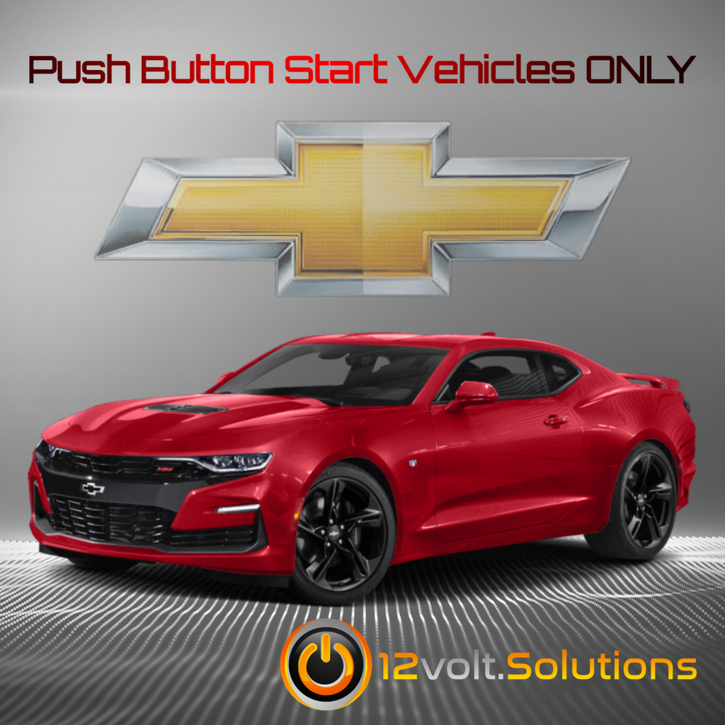 2016-2019 Chevrolet Camaro Plug and Play Remote Start Kit (Push Button Start)