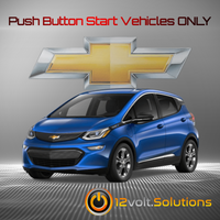 2016-2019 Chevrolet Volt Plug and Play Remote Start Kit (Push Button Start)