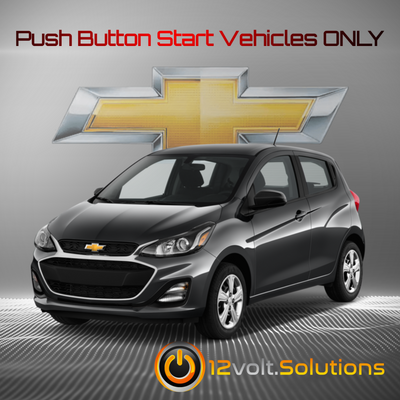 2016-2020 Chevrolet Spark Plug and Play Remote Start Kit (Push Button Start)