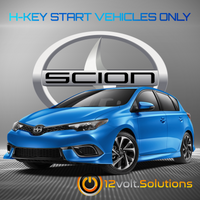2016 Scion iM Plug and Play Remote Start Kit (H-Key)