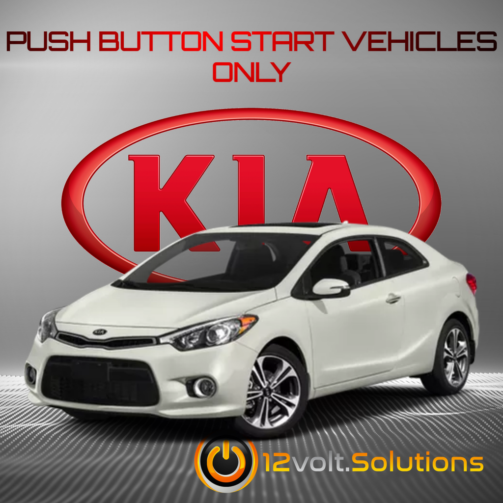 2014-2016 Kia Forte Koup Remote Start Plug and Play Kit (Push Button Start)