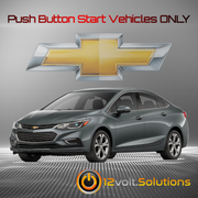 2013-2019 Chevrolet Cruze Plug and Play Remote Start Kit (Push Button Start)