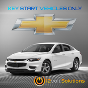 2017 Chevrolet Impala Plug & Play Remote Start Kit (Key Start)
