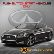 2017 Infiniti Q60 Remote Start Plug and Play Kit (Push Button Start)