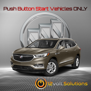 2018-2020 Buick Enclave Plug and Play Remote Start Kit (Push Button Start)