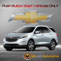 2018-2020 Chevrolet Equinox Plug and Play Remote Start Kit (Push Button Start)