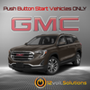 2018-2020 GMC Terrain Plug and Play Remote Start Kit (Push Button Start)