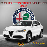 2018 Alfa Romeo Stelvio Plug and Play Remote Start Kit
